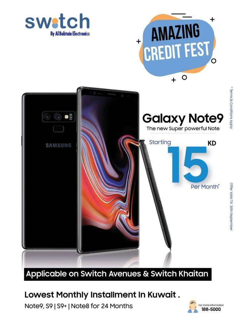 note-9-credit-offer-kuwait