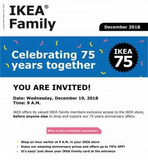 ikea-75-percent-discount-anniversary-offer-dont-miss-it in kuwait