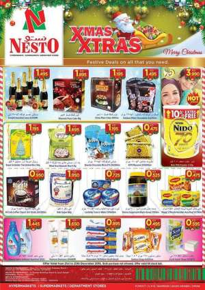 nesto-xmas-deals in kuwait