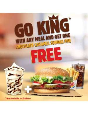 go-king-and-get-chocolate-caramel-sundae-for-free in kuwait