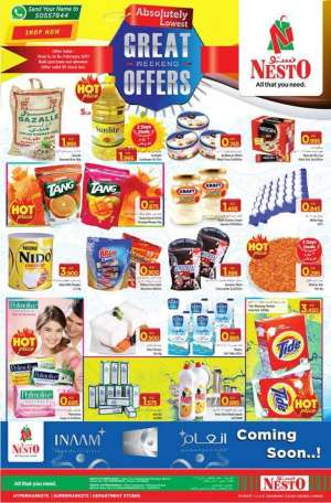 nesto-best-weekend-offers in kuwait