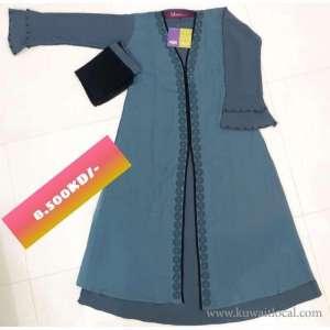 best-price-double-layered-stylish-abaya-with-stone-design-kuwait